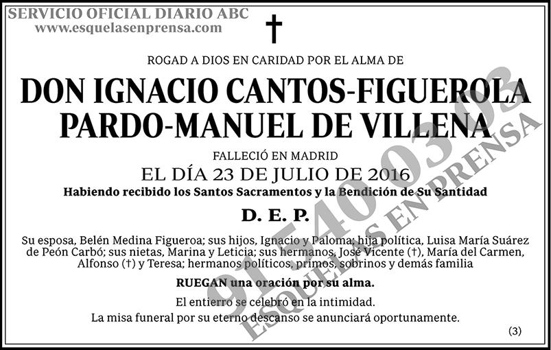Ignacio Cantos-Figuerola Pardo-Manuel de Villena